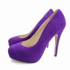 Purple Pumps .. for the Maid of honor and the Bridesmaids