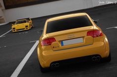 Audi with best italian supercar, Ferrari Audi A4 B7, Audi Rs4, Ferrari F40, Nissan Z Cars, Yellow Car, Car Pictures, Dream Cars, Super Cars, Rs 4