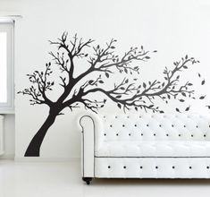 Wall sticker albero al vento