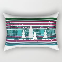 Christllax, the Pre-Xmas Art Rectangular Pillow by weivy Face Towel, Presents For Friends, My Themes, Website Themes, Good Cause, Wooden Shelves, Hand Towels, Duvet, Bed Pillows