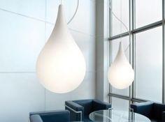 Lampe suspension / design original / en acrylique - NLC - next Ceiling Pendant, Pendant Lighting, Ceiling Lights, Pendant Lamps, Modern Lighting, Lighting Design, Drop Lights, Suspension Design