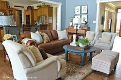 Traditional Cottage/Farmhouse style home tour - Debbiedoo's