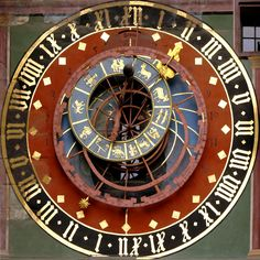 The clock tower of Zytglogge, Bern, Switzerland.