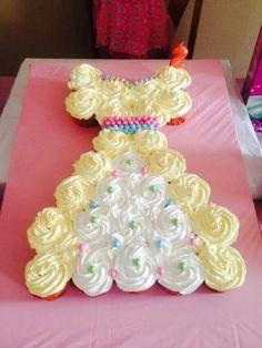 Cupcakes princess dress