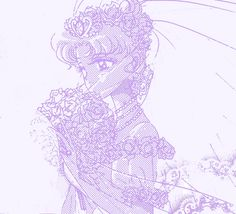 Usagi in wedding dress - Pretty Guardian Sailor Moon Neo Queen Serenity, Princess Serenity, Sailor Moon Manga, Moon Illustration, Anime Angel, Sailor Scouts, Moon Art, I Love Anime, Aesthetic Anime