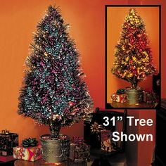 Small Fiber Optic Christmas Tree- 31' @ Bits and Pieces
