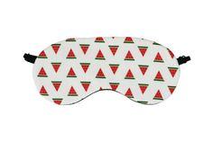 Watermelon Sleep Mask, Fruit Eye Mask, Tropical Fruit, Sleep Aid