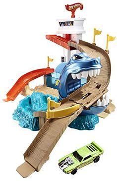 Hot Wheels - BGK04 - Véhicule Miniature - Piste Requin Attaque Vehicules http://www.amazon.fr/dp/B00FAQW0MK/ref=cm_sw_r_pi_dp_GDvIub03KWM6E