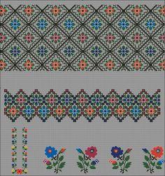 Gallery.ru / Фото #47 - Без названия - 753159 Cross Stitch Borders, Cross Stitch Art, Cross Stitching, Cross Stitch Embroidery, Cross Stitch Patterns, Peyote Patterns, Beading Patterns, Knitting Stitches, Knitting Patterns