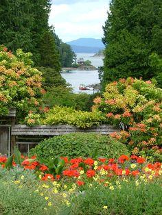 Bouchard Gardens, Victoria Island, British Columbia, Canada