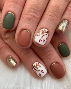 , 150 Fall Leaf Nail Art Designs To Let Your Hug Autumn 2019 Fall Leaf . , 150 Fall Leaf Nail Art Designs To Let Your Hug Autumn 2019 Fall Leaf Nail Art Designs - Fall leaves on nails right now are super-trendy. Fall Acrylic Nails, Autumn Nails, Winter Nails, Fall Nail Art Autumn, Fall Gel Nails, Cute Fall Nails, Nail Art For Fall, Fall Nail Ideas Gel, Fall Nail Colors