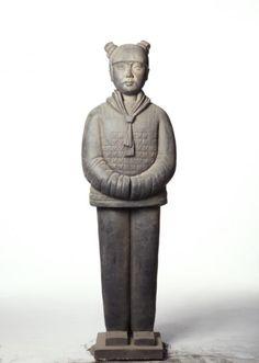 Prune Nourry Terracotta Daughter #7 Lizhou, 2013 Terracotta, Garden Sculpture, Buddha, Statue, Outdoor Decor, Daughters, Artists, Sculpture, Terra Cotta