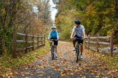 Rail Trails for Fall Fun -- Dick & Willie Passage Rail Trail, Martinsville, VA