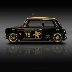 The post Classic Racing Legends, Mini JPS ? & cool cars appeared first on Cars. Mini Cooper Classic, Classic Mini, Classic Cars, Auto Retro, Retro Cars, Vintage Cars, Carros Suv, Austin Mini, Mini Copper