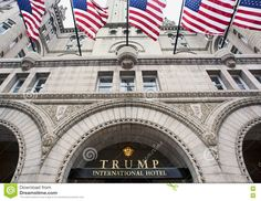 Trump International Hotel In Washington DC. - Download From Over 53 Million High Quality Stock Photos, Images, Vectors. Sign up for FREE today. Image: 78397711