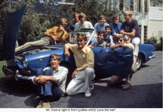This past summer, an old high school classmate sent me a photograph (at the top of the article) in which I was one of eleven young men crowded around a blue sports car. Somehow or other, I was front and center in the shot (and it wasn't even my car!). - http://www.brucesallan.com/2012/09/01/evolution-technology-film-photography-darkrooms/