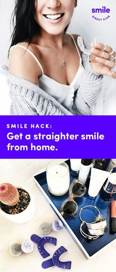 Lucky you! You can straighten your smile from home for up to 60% less than other brands with SmileDirectClub. See how it works and get started with your free smile assessment and risk-free evaluation today!
