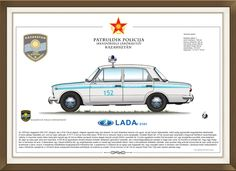 Lada Police Cars, Car Ins, Hungary, My Drawings, Vehicles, Pictures, Cars, Vehicle, Paintings
