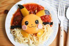Pikachu Pasta