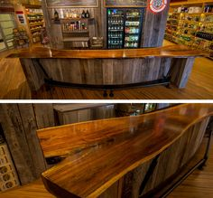 Unique Bar Tops | Custom Bar Top: Bo Brooks - OE Custom