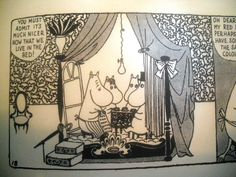 From Moomin - Complete Tove Jansson Comic Strip