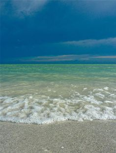 Sea blues, Sanibel Island, FL