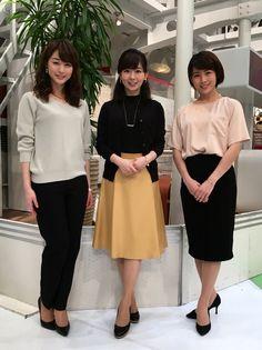 2016/03/07 グッド!モーニング新3姉妹のOggiStyleで、 流行のファッションをチェックしましょう 今日のテーマは『春色×ブラックコーディネート』でし