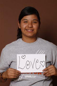 Love, Perla Segura, Estudiante, Monterrey, México.