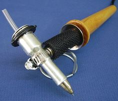 Encaustic Flow Pen for Encaustic Wax and Batik Enkaustikos