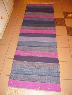 Rag Rugs, Recycled Fabric, Woven Rug, Scandinavian Style, Carpets, Pattern Design, Bohemian Rug, Recycling, Weaving