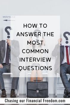 The most common job interview questions and answers examples to help you nail all interview questions during your next job interview. Most Common Interview Questions, Behavioral Interview Questions, Tricky Questions, Job Interview Tips, This Or That Questions, Finding The Right Job, Finance Jobs, Career Advice, Career Path