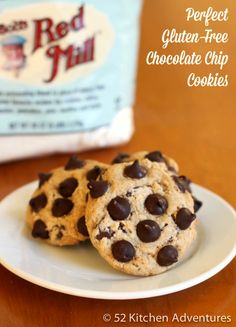 Perfect Gluten-Free Chocolate Chip Cookies  #BRMHolidays #CleverGirls
