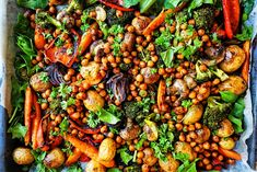 Något som alltid går hem hos de flesta är väl ändå rostade grönsaker i ugn. I min familj har vi gjort det sedan jag och min bror var kids och har alltid älskat