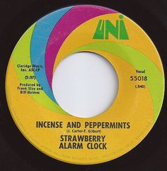 Incense And Peppermints / Strawberry Alarm Clock / on Billboard Fun Songs, Songs To Sing, Music Songs, Sound Of Music, Music Tv, Good Music, Make Mine Music, Music Is Life, 45 Records