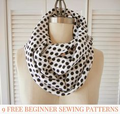 9 (More) Free Beginner Sewing Patterns . Sewing 101 by Lindsay at Shrimp Salad Circus