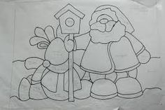 Patchwork navidad country new ideas Diy Christmas Village, Quilted Christmas Ornaments, Christmas Applique, Patchwork Patterns, Applique Patterns, Quilt Patterns, Craft Patterns, Christmas Drawing, Christmas Art