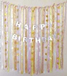 とっても簡単ですぐに作れて、お誕生日からベビーシャワーまで!!幅広く使えるパーティーアイテムをDIY!!