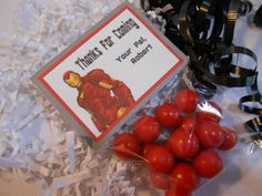 Iron Man Party Favors - Iron Man Birthday Party on Etsy, $40.00