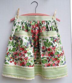 Chintz apron