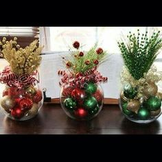Christmas Centerpiece, Set of four, Christmas Centerpieces, Corporate holiday party, Corporate christmas party centerpieces Choose any … Noel Christmas, Simple Christmas, Christmas Wreaths, Christmas Coffee, Christmas Images, Christmas Ornament, Ornaments, Christmas Party Centerpieces, Xmas Decorations