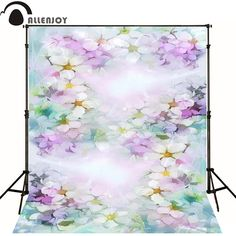 >> Click to Buy << Allenjoy Photographic background Hazy purple flower painting newborn photography photocall custom interesting #Affiliate