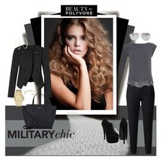 """""""Military Chic"""" by pmcdl ❤ liked on Polyvore"""