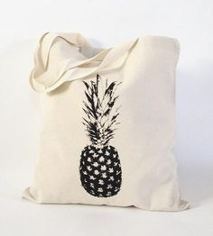 Single Pineapple Tote Bag | Women's Bags & Carry Goods | nBhaTTi | Scoutmob | Product Detail