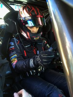 Renee Gracie behind the wheel of a V8 Supercar , Renee will be racing in the Dunlop Development Series in 2015 with Paul Morris Motorsport in a Ford Falcon FG