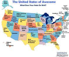 Mapas Para Conocer Estados Unidos USA Pinterest - Mapas usa