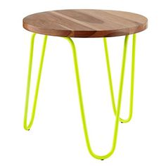 Neon Nightstand (Neon Yellow) in New Furniture | The Land of Nod