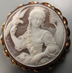 Cameo of the Marquise D'Antin