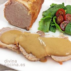 lomo de cerdo en leche Pork Recipes, Mexican Food Recipes, Ethnic Recipes, Sea Cakes, Lechon, Peruvian Recipes, Spanish Food, Barbacoa, Churros