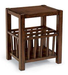 "Sonoma  Magazine Table    Model 6625-072  24""H x 16""W x 20""D"