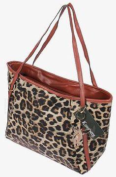 """SHOPPER LEOPARD -  Diese Tasche ist ein  """"MUSS"""" für jede modebewusste Frau - Brandneu und nicht im Ladengeschäft erhältlich - Sommer Sale für 59,90 €"""